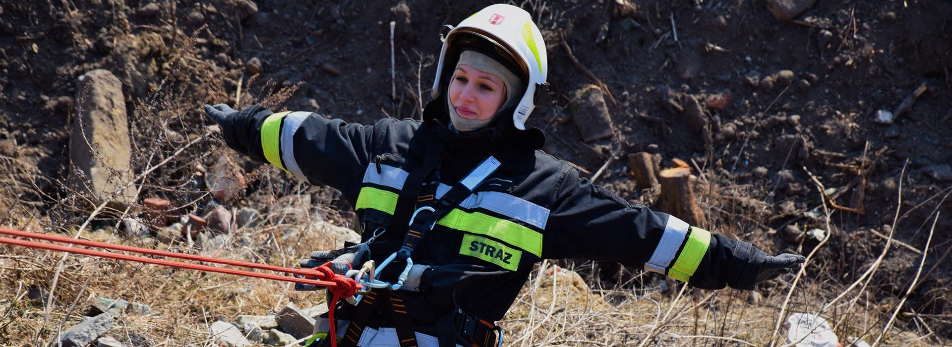 Ćwiczenia z zakresu ratownictwa wysokościowego